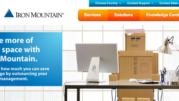 Iron Mountain – Box Man